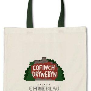 Cofiwch Dryweryn Tote Bag